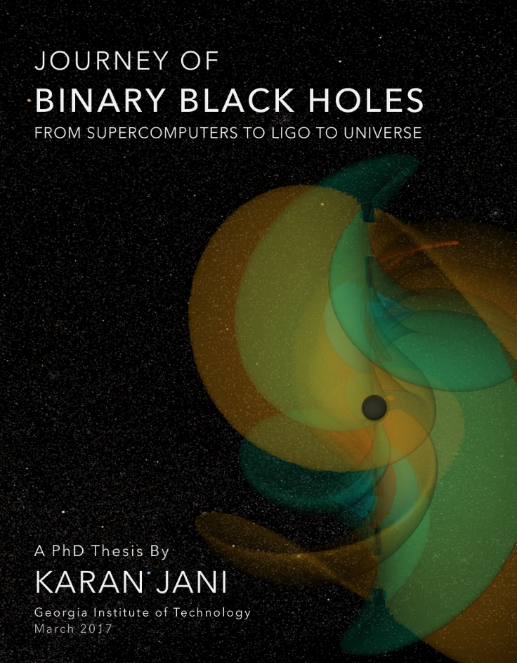 COVER PHOTO: Emission of Gravitational Waves From Ringdown Stage of  Binary Black Hole Merger, GW150914 | Simulation by the Numerical Relativity Group  at Georgia Institute of Technology | Image and Simulation Credit: Mathew Kinsey, Michael Clark, Karan Jani