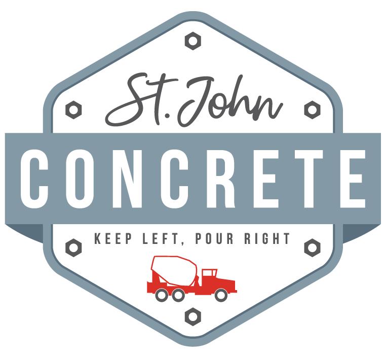 St. John Concrete Logo