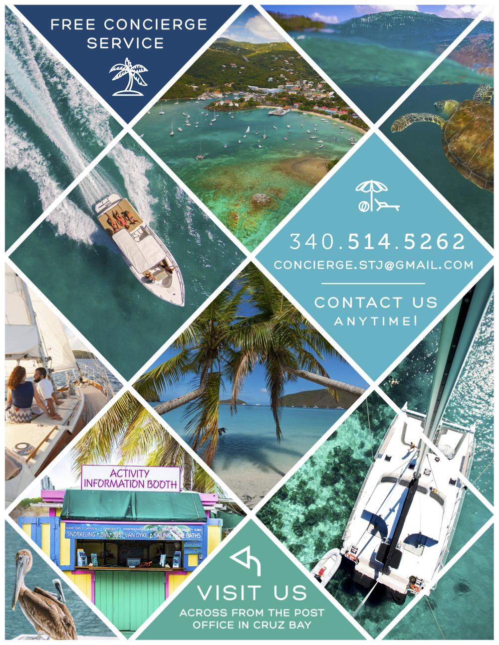 St. John Concierge Flyer