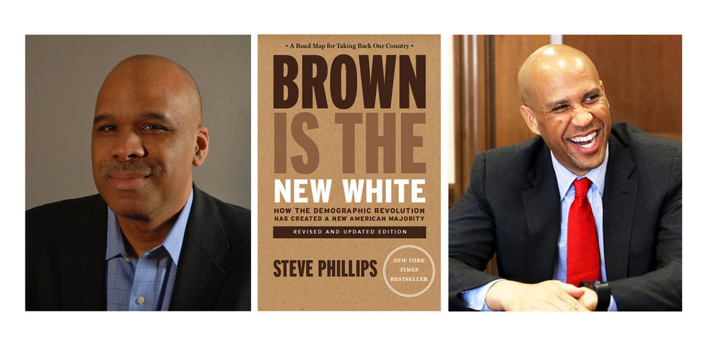 Brown Is the New White: An Evening with Steve Phillips and Sen. Cory Booker
