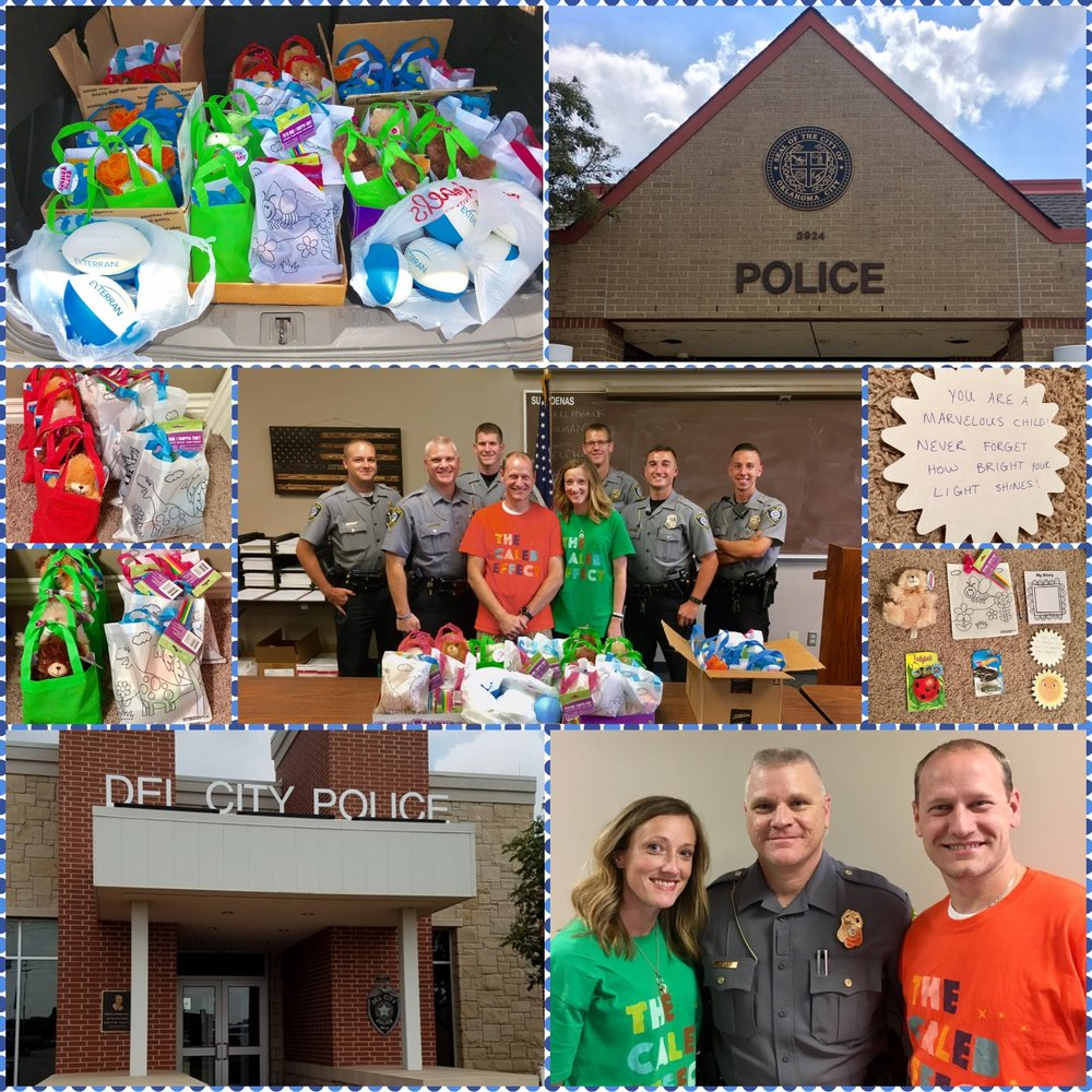 Caleb's Day of Kindness-Police
