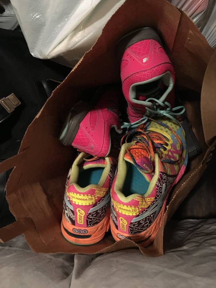 Brightening days one shoe at a time!