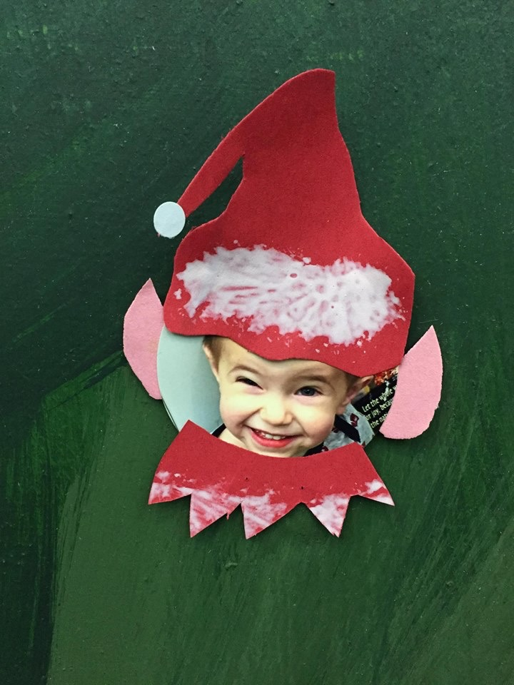 Nailed it! Cutest elf EVER!