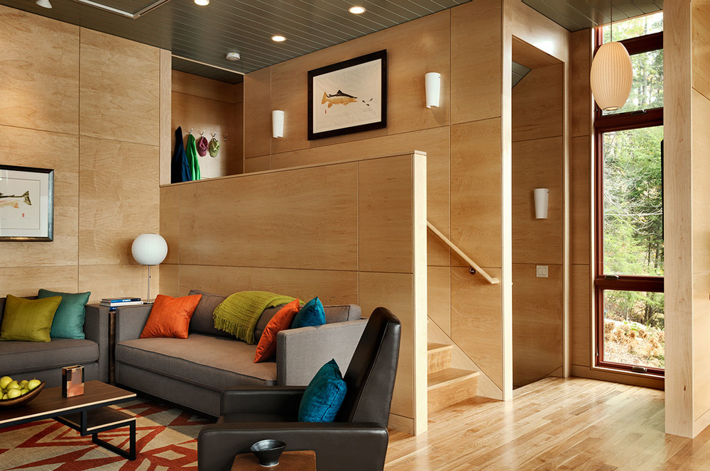 contemporary guesthouse — smith & vansant architects
