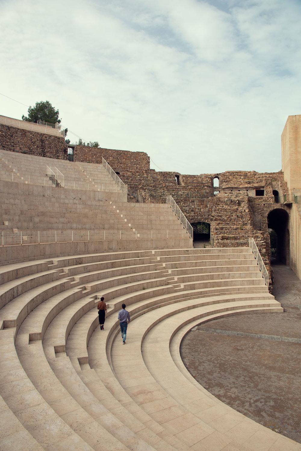 Roman Amphitheatre, Sagunt.