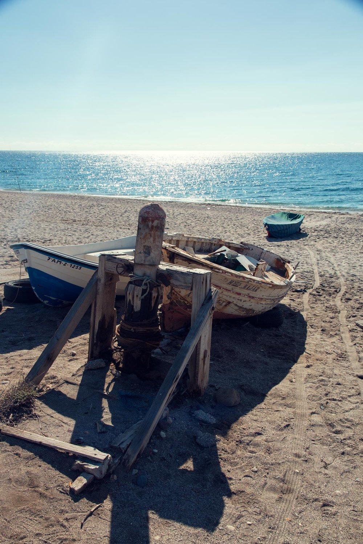 Fishing Boat at Playa De La Fabriquilla.