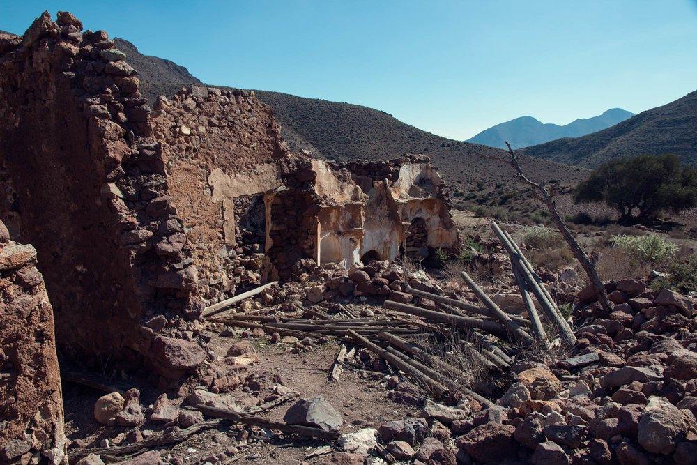 Ruin in Majada Redonda.