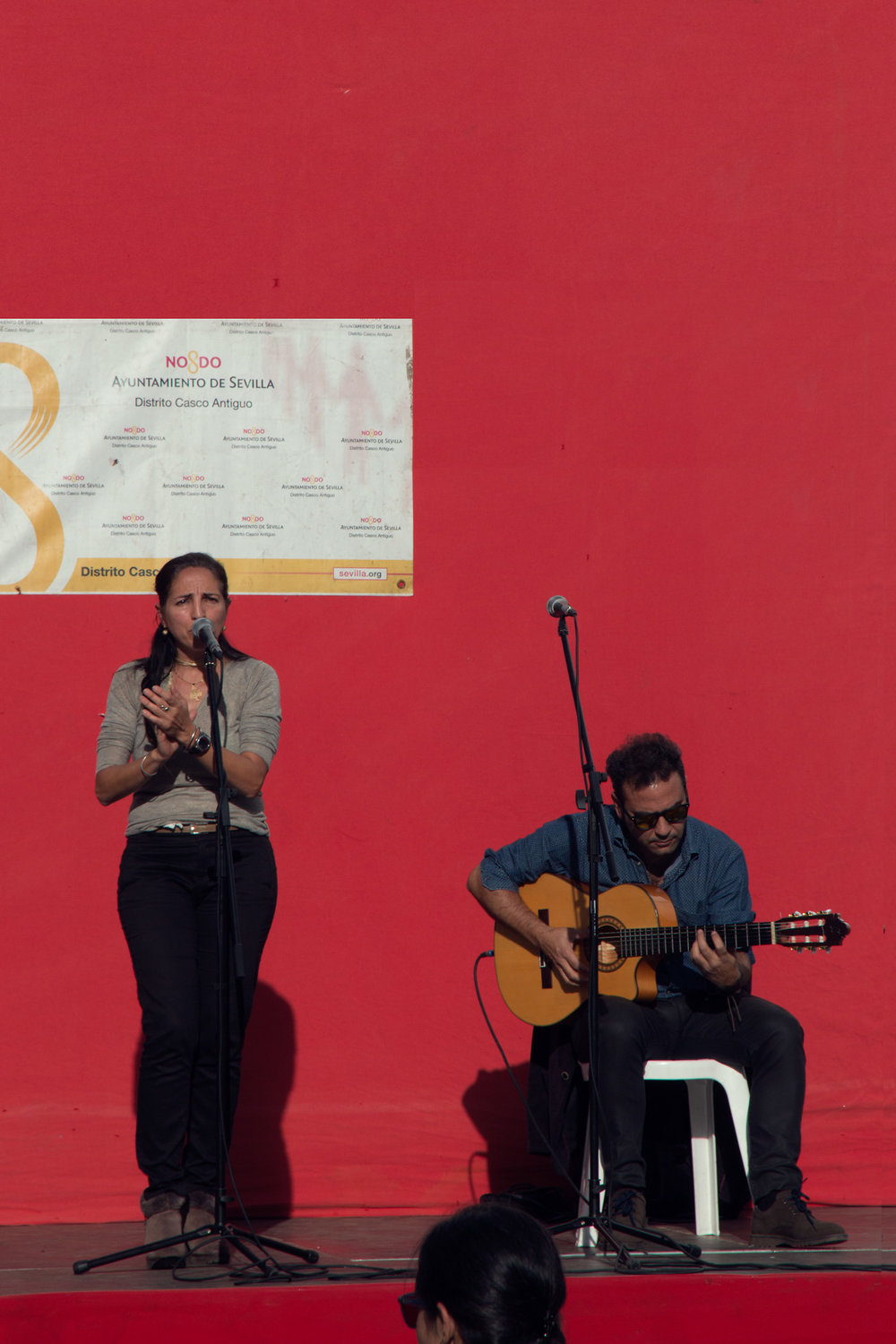 The local school was having a fundraiser. We think these were two of the teachers or parents! Great performance!