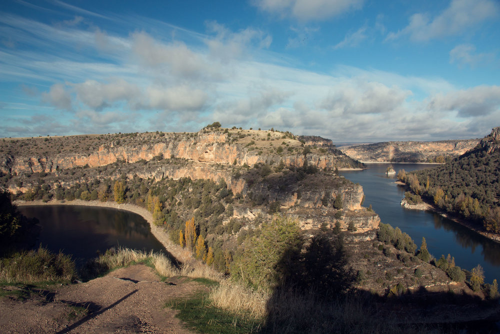 The gorge at the San Frutos Hermitage, Spain.