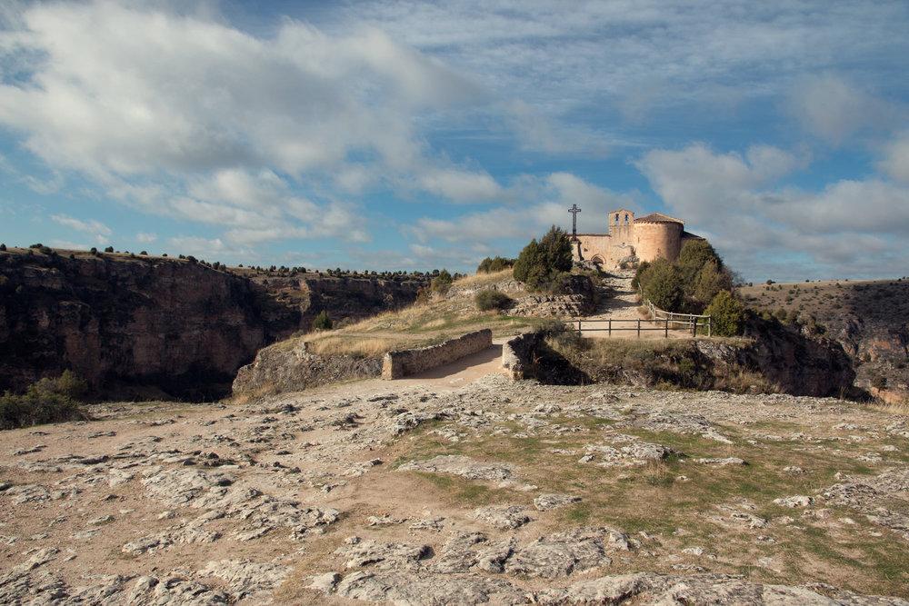 San Frutos Hermitage, Spain.