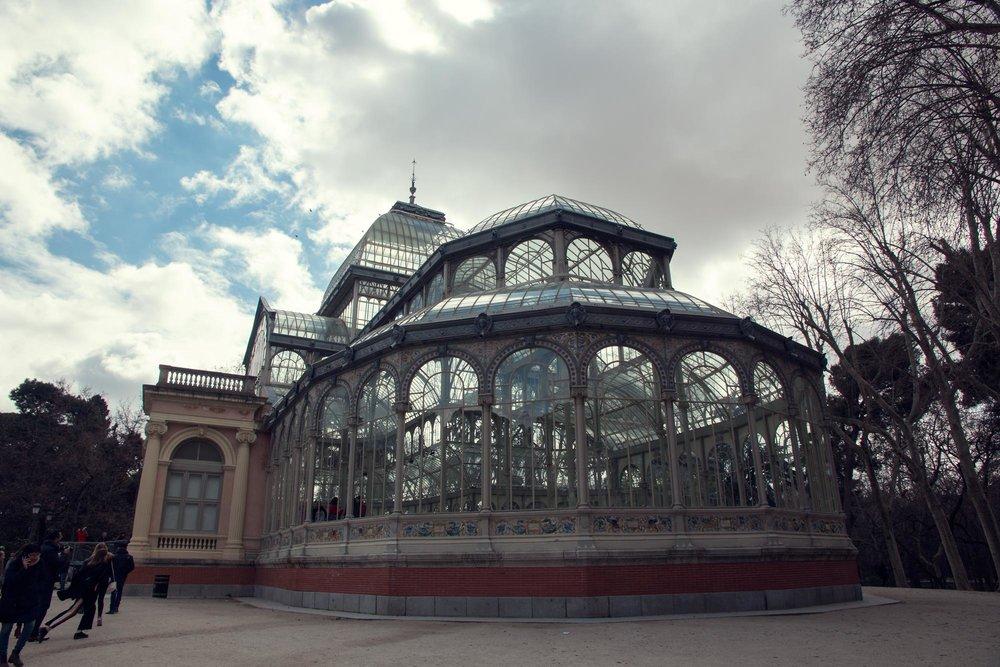 Madrid's Crystal Palace in Buen Retiro Park.