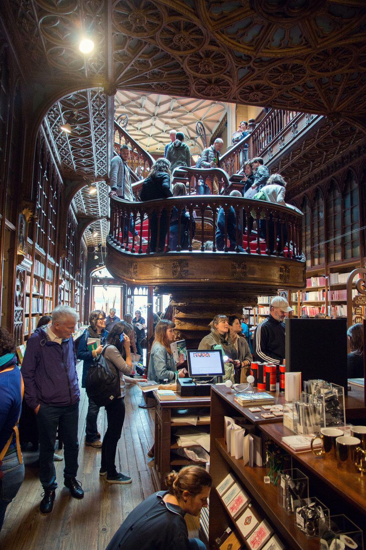 Livraria Lello, Porto.
