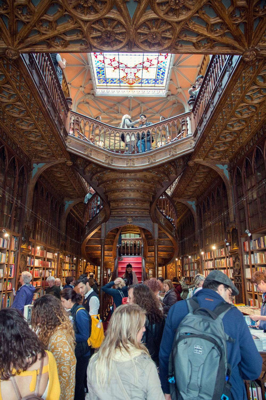 Livraria Lello bookstore.