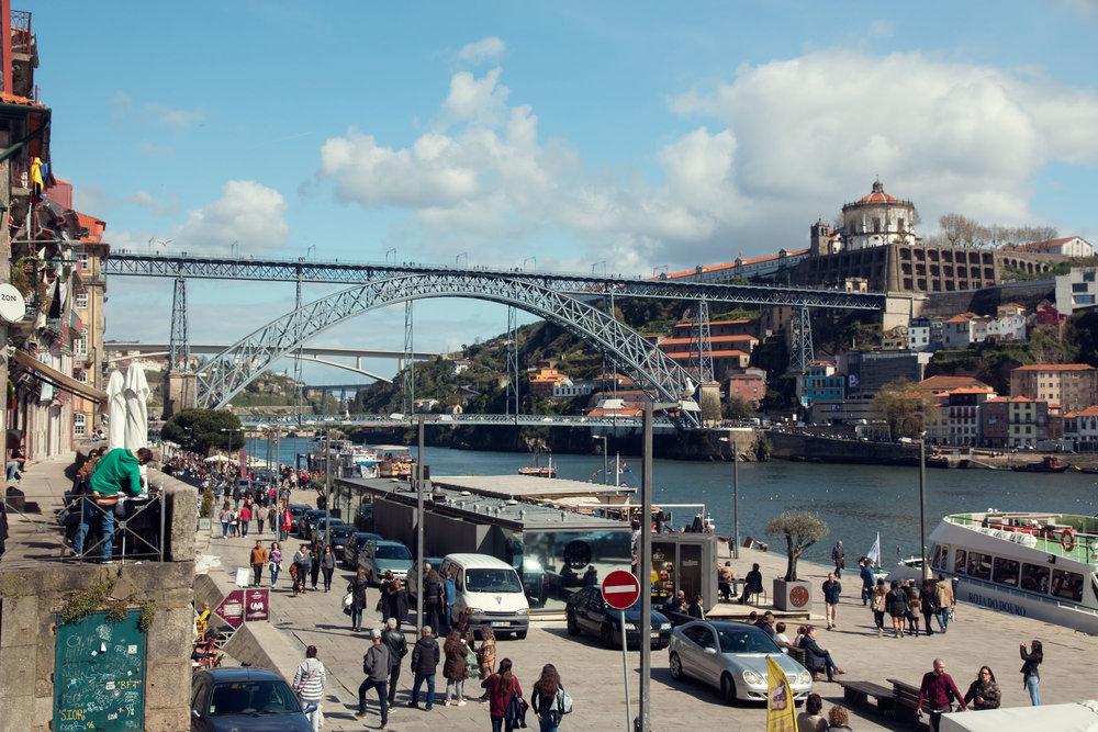 Dom Luis I bridge.