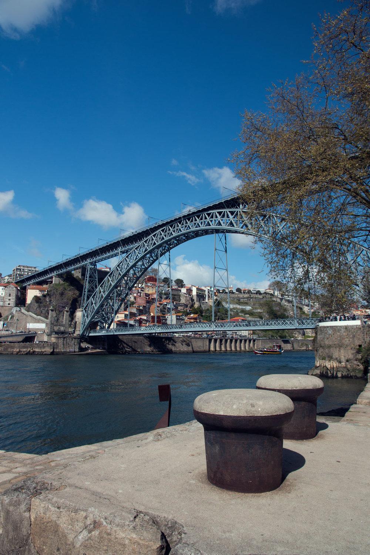 Dom Luis I bridge from Gaia.