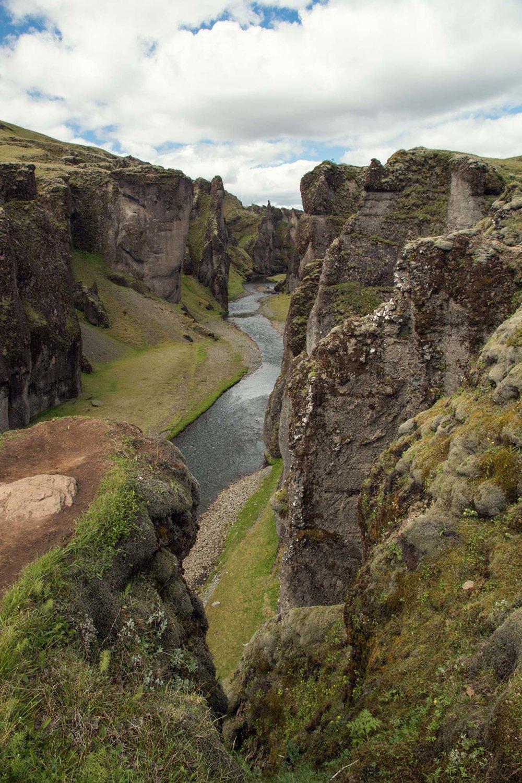 Kirkjubæjarklaustur Canyon