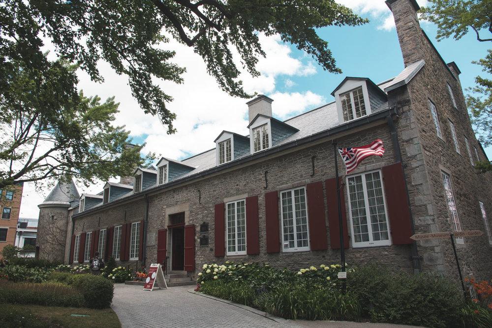 Chateau Ramezay.