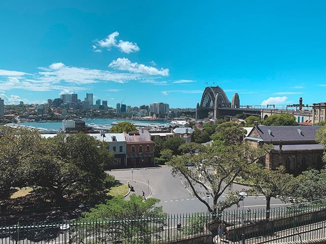 Nice to see you Sydney. Looking pretty good for tomorrow. . . . . . #mardigras2019 #sydneyharbourbridge #therocks #pride2019 #travelphotography