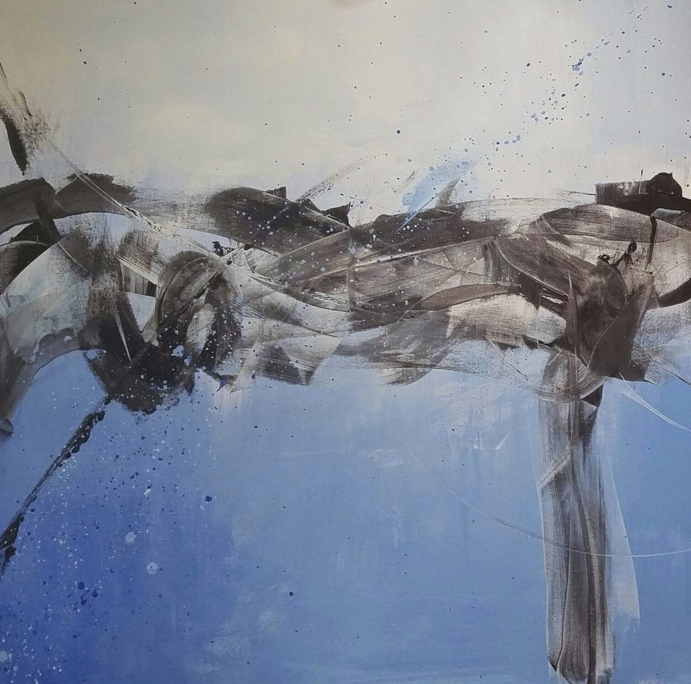 Life Balance - Acrylic Painting