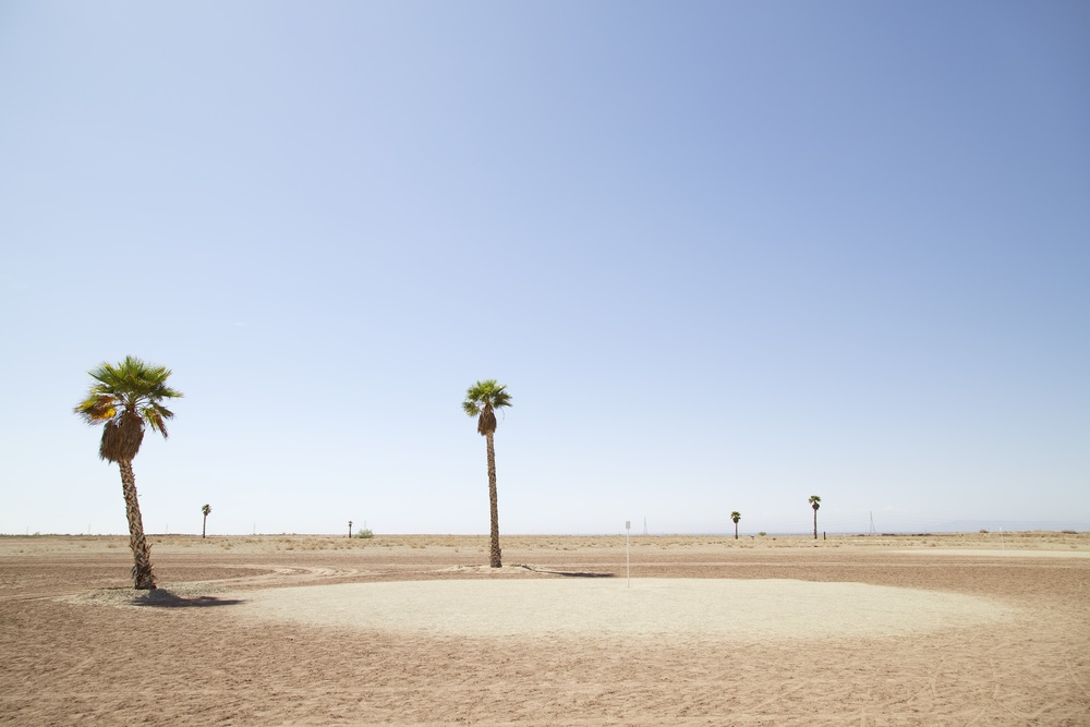 Golf Course, Salton Sea, California , 2014