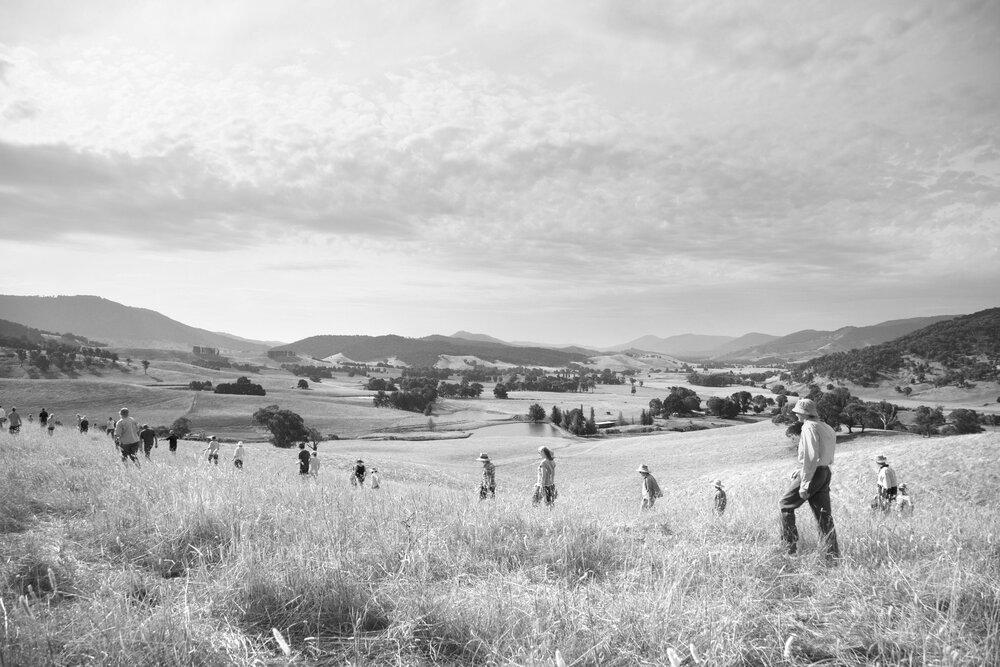 The Space Between Us , 2017 Documentation Still, Tallangatta Valley, Australia