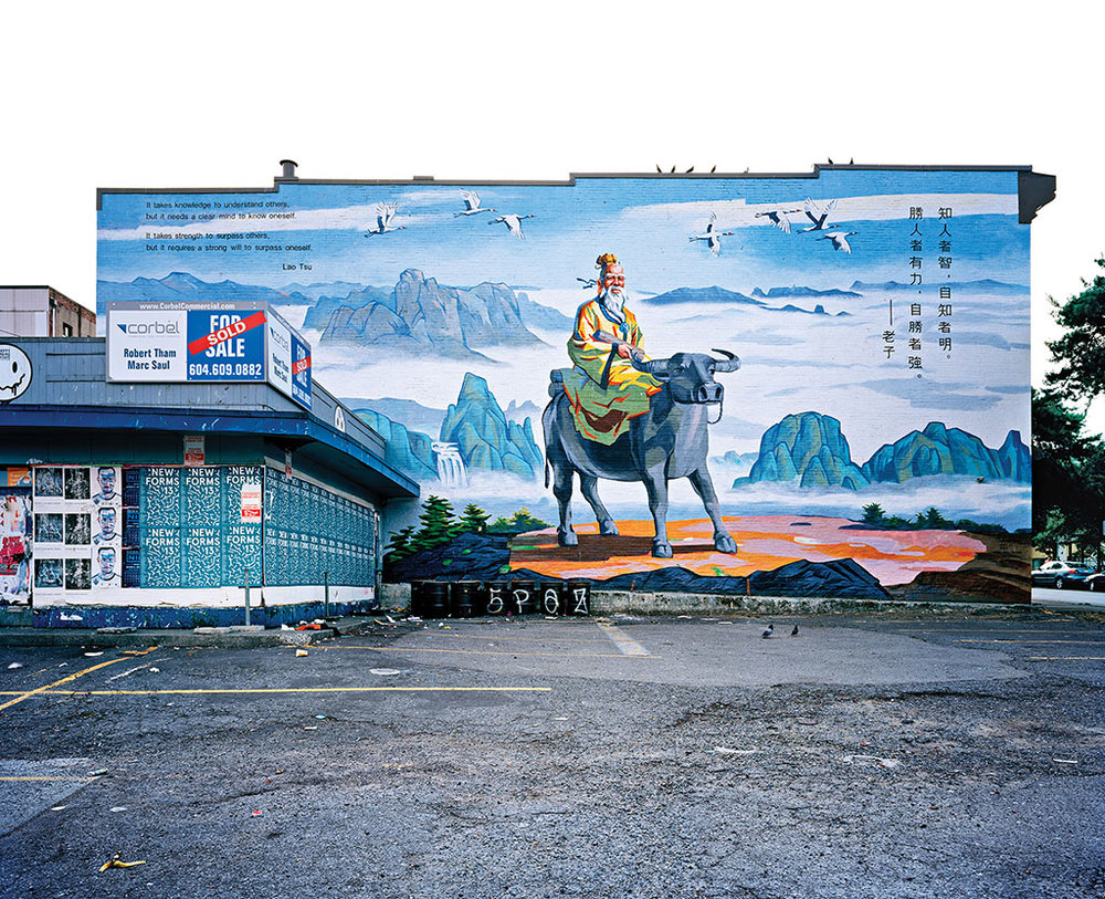 Lao Tsu Mural, Vancouver 2013