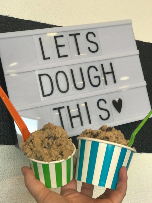 Now Serving Edible Cookie dough at our North Richland Hills store!