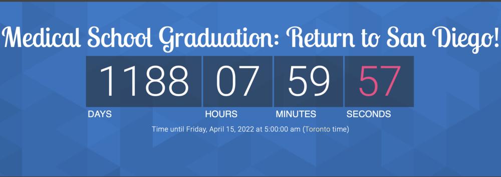 Countdown Tracker