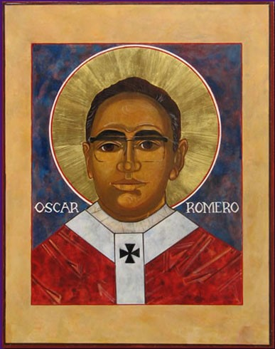 BLESSED OSCAR ROMERO  by Padre Richard Cannuli