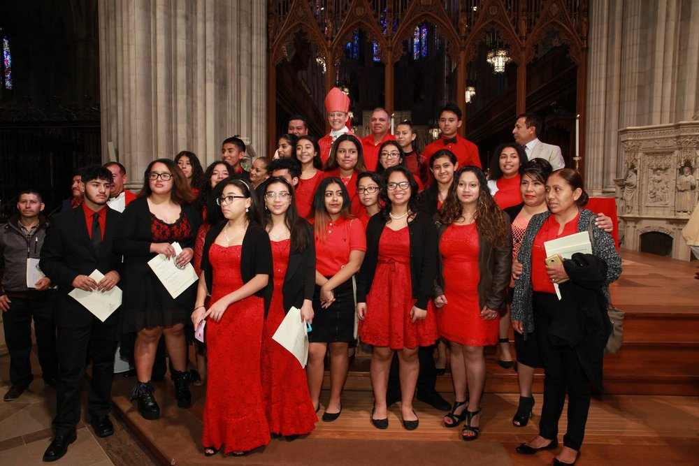Confirmations at Washington National Cathedral, November 2016