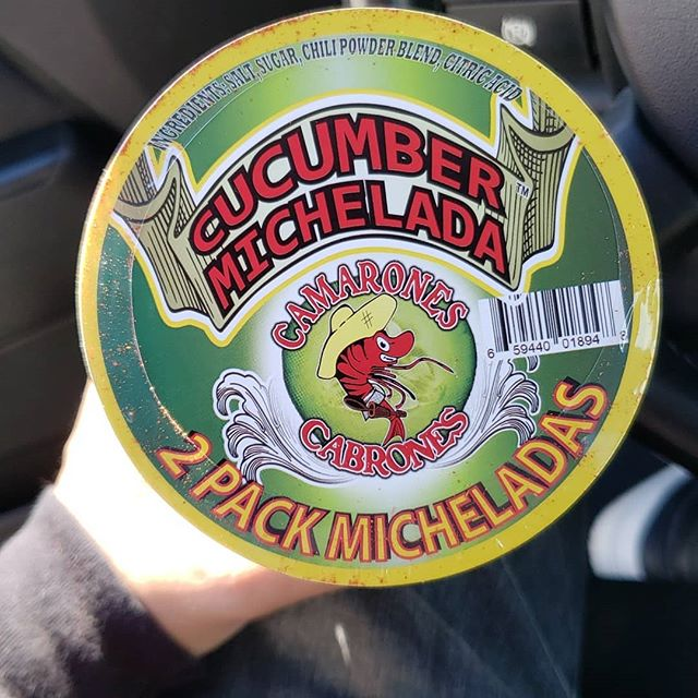 Have you tried our 2 pack, Craft Cucumber Michelada cups with Cucumber chili and 8oz Cucumber michelada mix.  You can currently find them at 4 locations: Macks liquor La puente @mickeysliquor La puente And  @sandimasliquor_freewayliquor  Both West covina and sandimas  Stop by and pick one up today, let us know what you think of this craft michelada cup.  #eddiecamaronescabrones6267595269  #shrimpies #wecallyouguysourshrimpies #weloveourshrimpies #cclove #camaronescabrones #badassshrimp #badasserrthang #funny #memes #hiphop #happy #wtf #smallbusiness #support #hustle #grind #seafood #cajun #mexican #fusion #food #delicious #bomb #shrimp