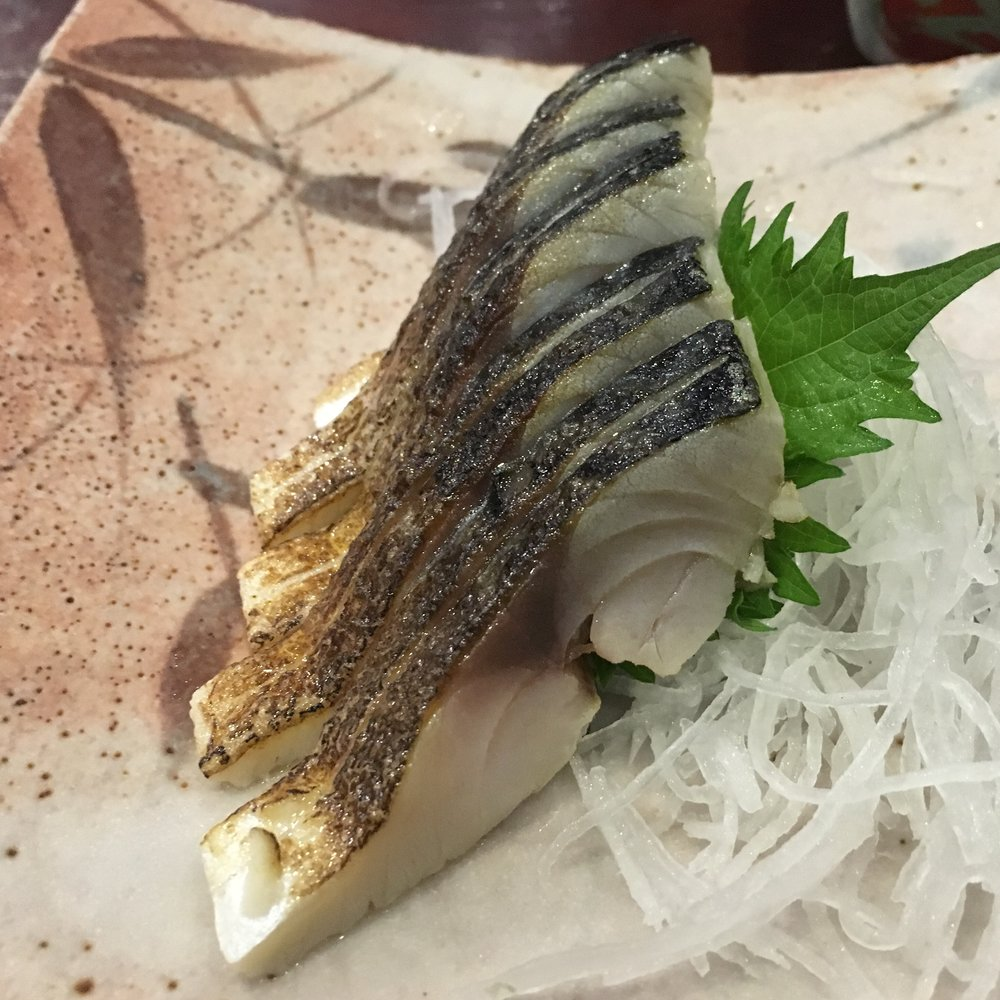 Horse mackerel at Atari-ya