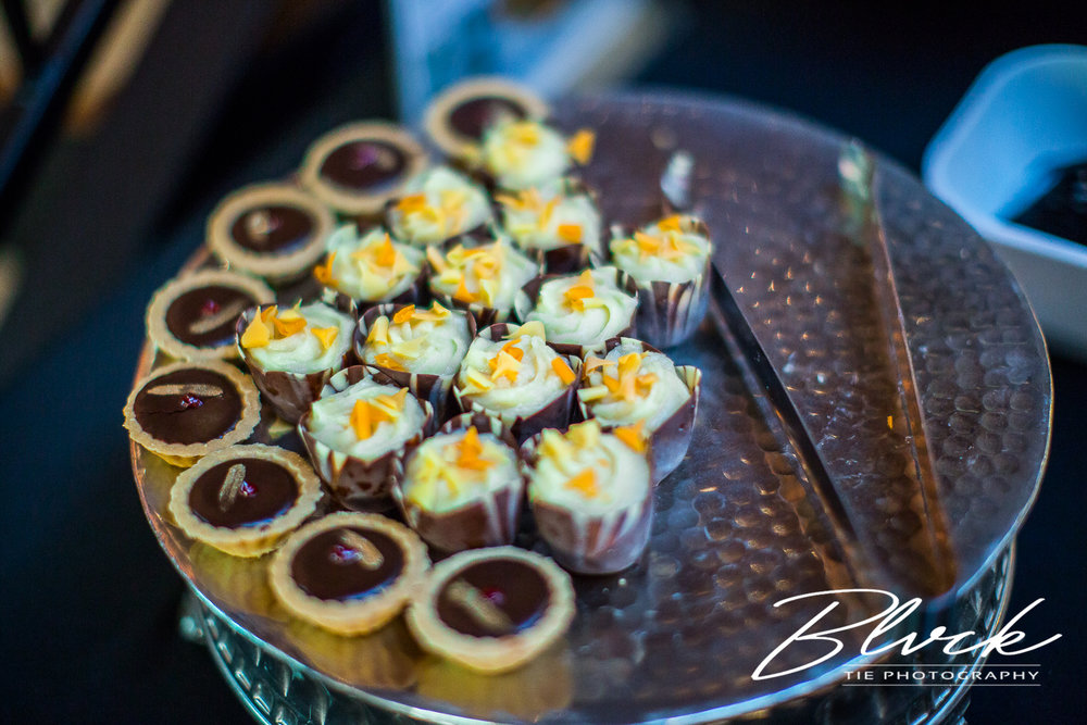 Tailored Desserts did an exquisite job in their taste and presentation.