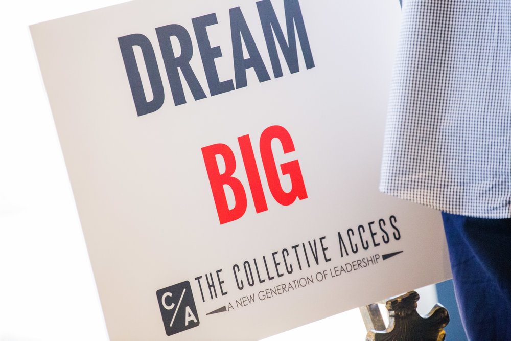 Our mantra! Dream Big! We are here to educate the youth how to make those big dreams into BIG REALITIES!