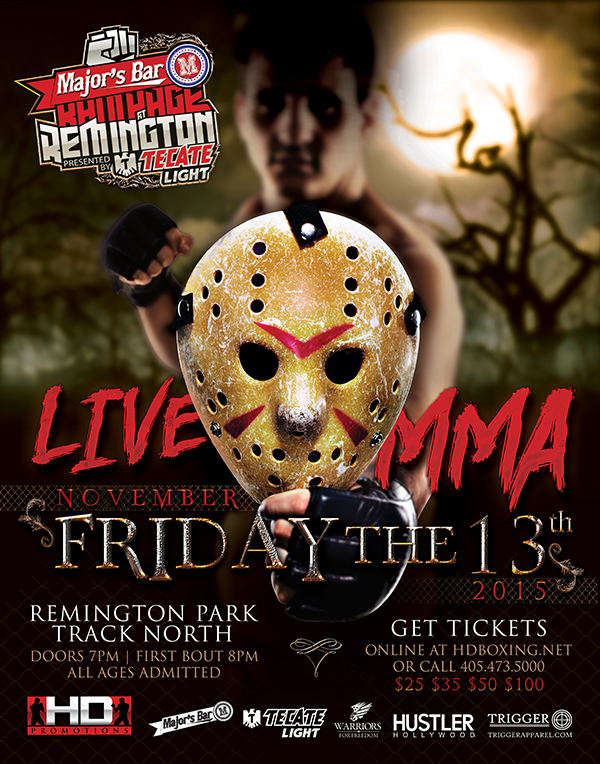 HD MMA 3: ADKINS VS PENLAND - NOV 13, 2015 REMINGTON PARK CASINO, OKLAHOMA CITY