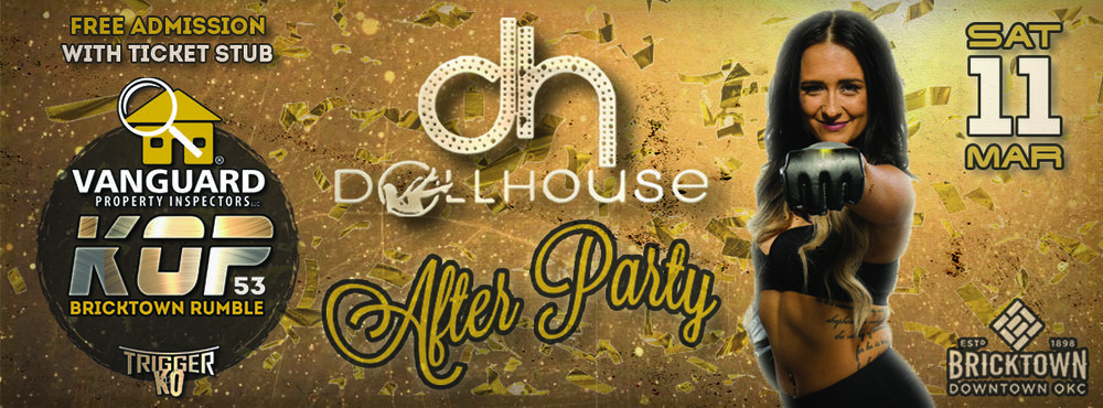 DOLLHOUSE OKC OFFICIAL EVENT AFER PARTY | MAR 11