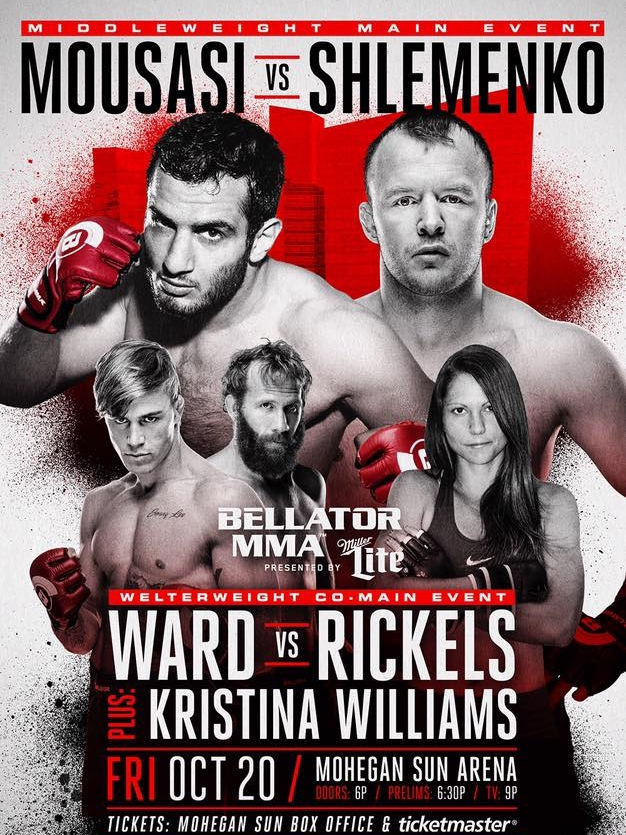 BELLATOR MMA 185 - TKO COMBAT SPORTS - OCTOBER 20, 2017 MOHEGAN SUN, CT