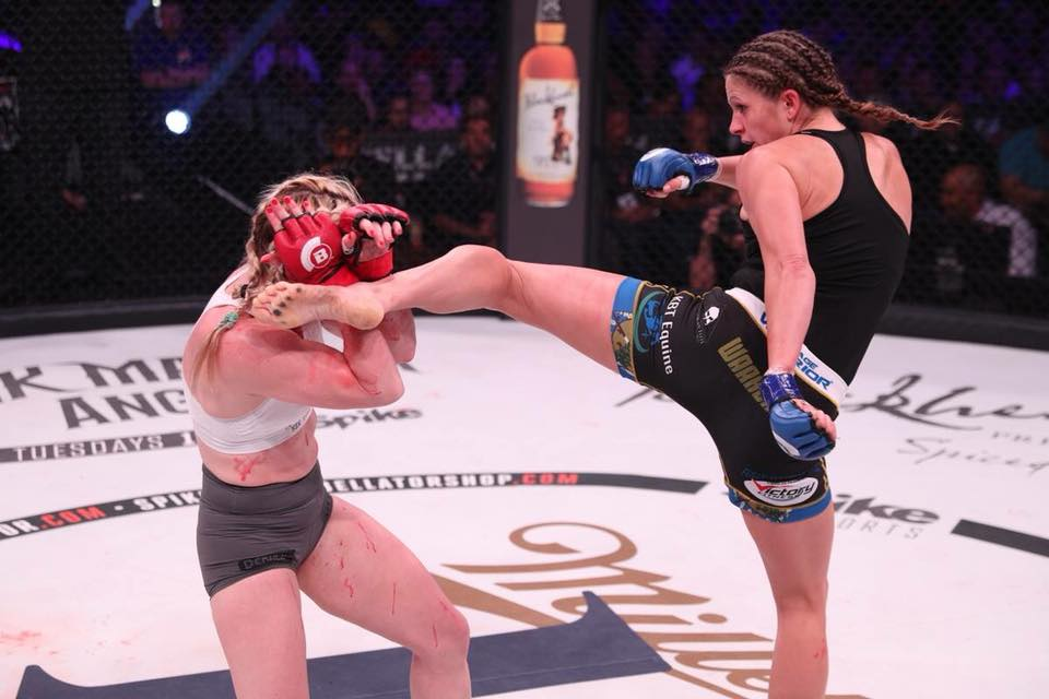 Kristina Williams stops Heather Hardy at Bellator 185