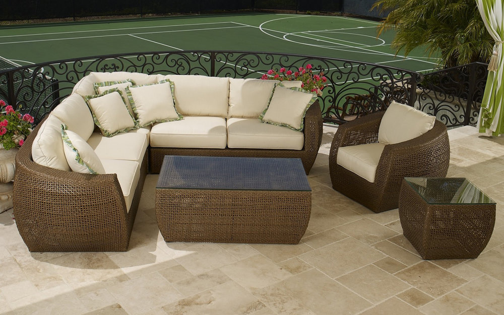 Outdoor Living Room Furniture, Sofa, Couch | iFurnish, Frisco, CO