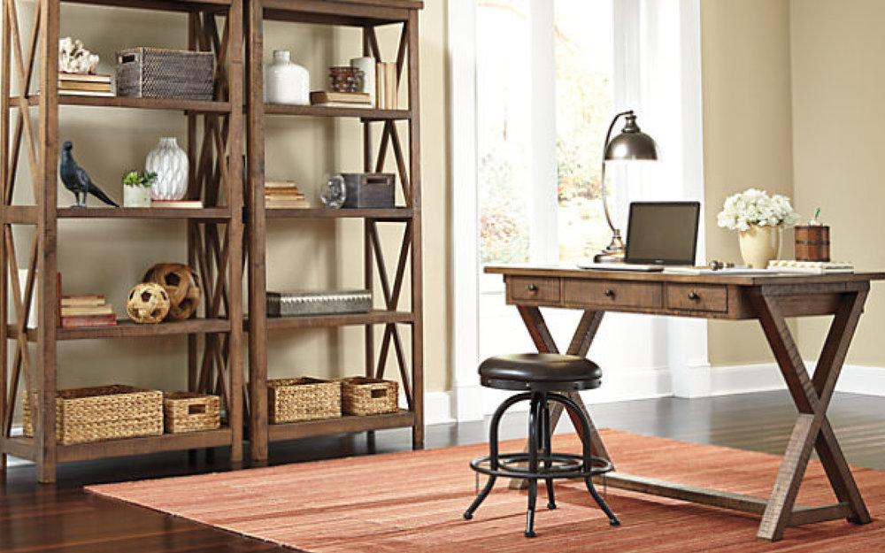 ... CO Ashley Home Office Furniture | IFurnish, Frisco, CO ...