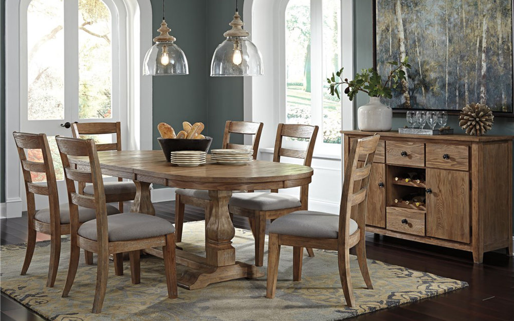 Ashley Traditional Dining Room Set | iFurnish, Frisco, CO