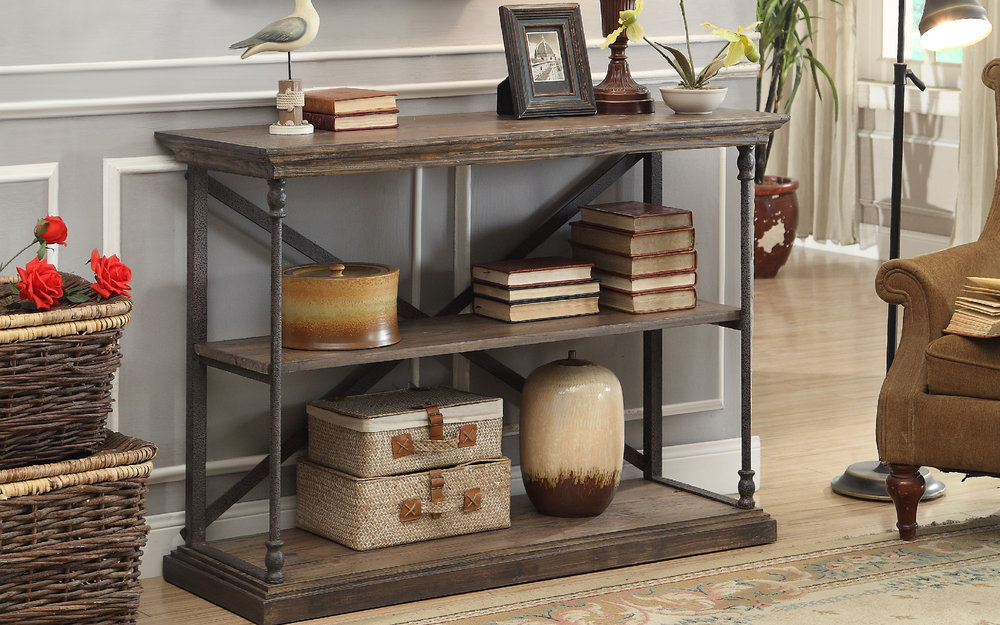 Rustic Accent Table  | iFurnish, Frisco, CO