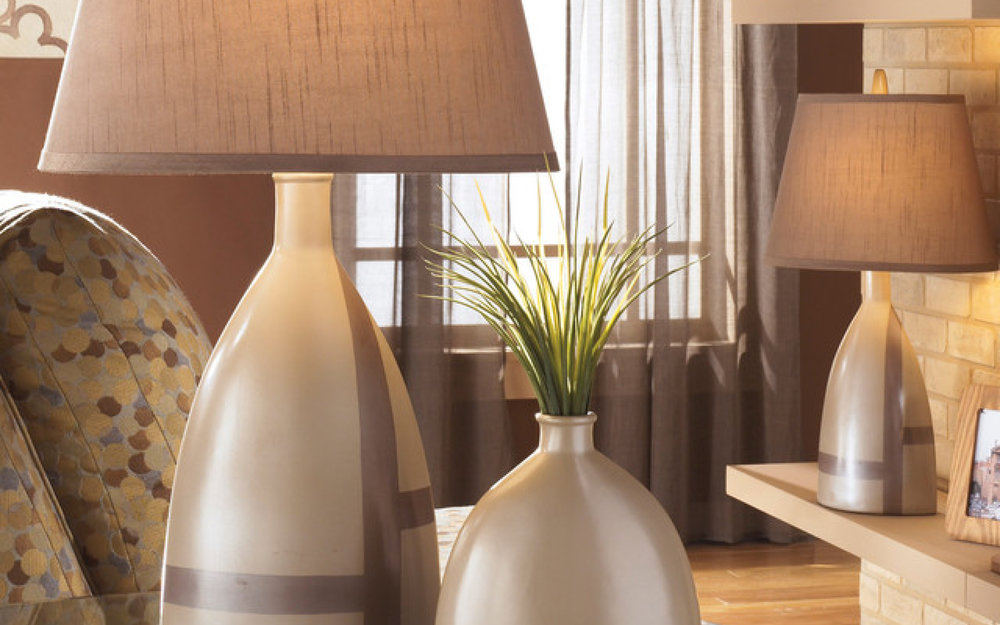 Sleek Table Lamp by Ashley  | iFurnish, Frisco, CO