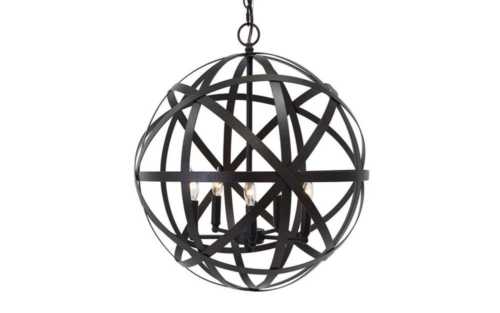 Cage Pendant Lighting Ashley  Modern Metal | iFurnish, Frisco, CO