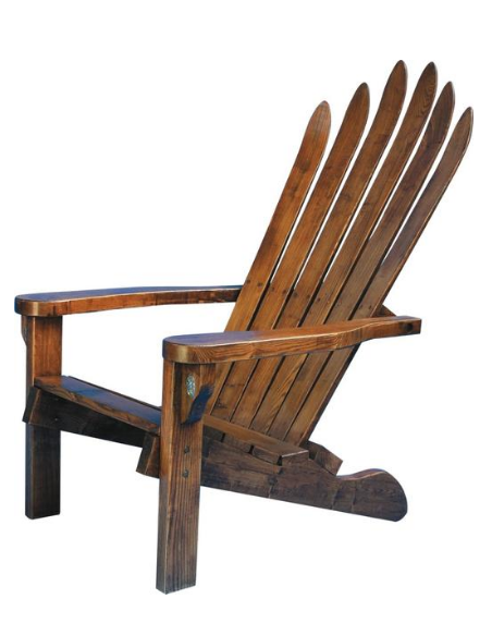 Wood Adirondack Ski Chair | IFurnish, Frisco, CO