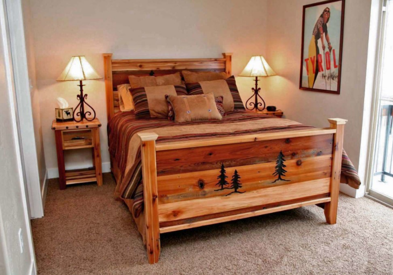 Rustic Mountain Bed Frame   IFurnish, Frisco, CO