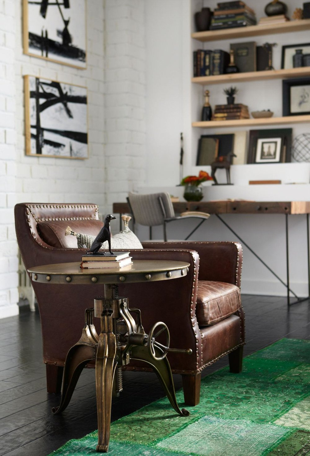 Charmant Four Hands Furniture Home Office Industrial