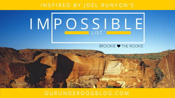 Inspired by Joel Runyon's Impossible List