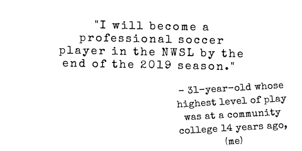 Professional Soccer Player in the NWSL