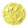 Celestial FlowerColor Eyeshadow Refill. A chartreuse (light yellow-green tone) with a hint of frost, Warm Tone